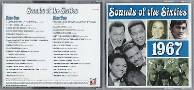 Sounds Of The Sixties 1967 Cd, 2 Disc Set (time Life Music) • 1.99£