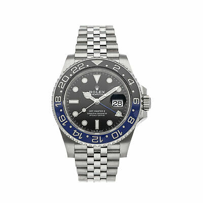 $ CDN22398.59 • Buy Rolex GMT-Master II Batman Auto Steel Mens Jubilee Bracelet Watch 126710BLNR