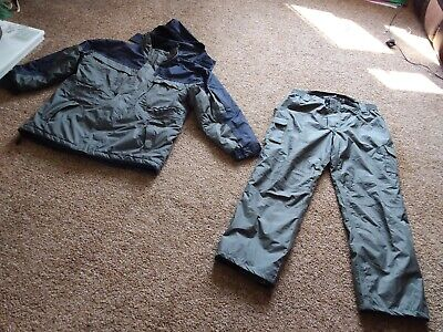 Carp Coarse Fishing Tackle Coat And Trousers - Size XL • 29.99£