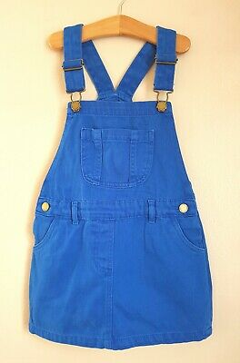 BNWT NEXT Blue Denim Pocket Pinafore Dungaree Dress 4 Years 3-4 Post Next Day • 1.99£