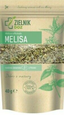 Lemon Balm Cut Dried Herbal Tea (Melissa Officinal Is) 100% Natural 40g • 7£