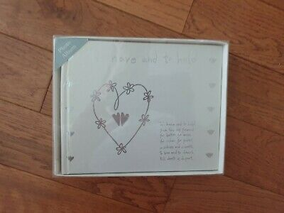 Brand New In Box Wedding Photo Album Special Occasion Gift Present • 2.99£