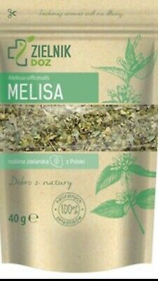 Lemon Balm Cut Dried Herbal Tea (Melissa Officinalis ) 100% Natural 40g • 7£
