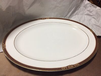 Royal Doulton TENNYSON 16 In Oval Serving Platter • 60.01£