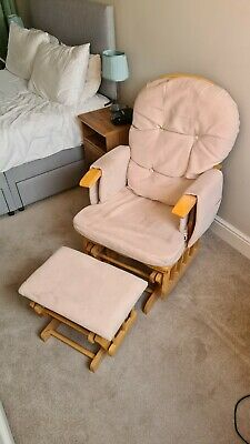 Glider Maternity Nursing Chair And Foot Stool • 10£