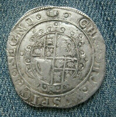 Charles I Half Crown Tower Mint, Mint Mark Tun S.2775 • 172.50£
