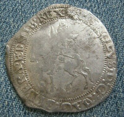 Charles I Half Crown Tower Mint, Mint Mark Sun S.2778 • 192.50£