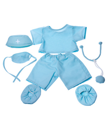 Doctor Scrubs 16   Teddy Bear Clothes Outfit To Fit 14  To 18  Build A Bear  • 10.95£
