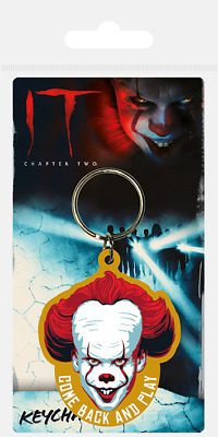 £3.10 • Buy It Pennywise Clown Come Back And Play Rubber Keyring New Official Merchandise