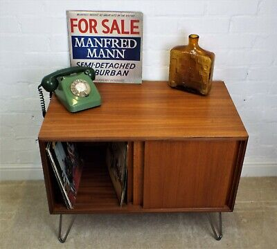 Great Vintage 1972 G Plan Form 5 Teak Small Sideboard./ Record Cabinet • 195£