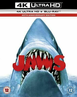 Jaws ( 4K Ultra HD Blu-ray, 2-Disc Set, Anniversary Edition)  [Region Free] • 10.50£