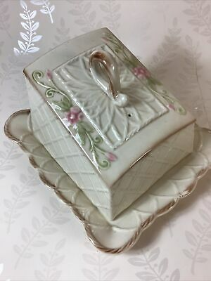 Park Rose Bridlington Pottery Cheese Dish Vintage Style  • 4.99£