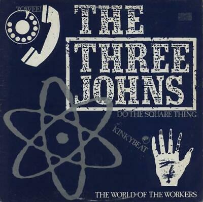 Three Johns 12  Vinyl Single Record (Maxi) The World Of The Workers UK • 12.95£
