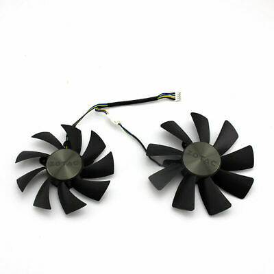 $ CDN34.26 • Buy New Original For ZOTAC GeForce GTX 1070 Ti Mini 8GB Graphics Card Fan DC12V 4Pin