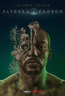 347412 Altered Carbon Anthony Mackie GLOSSY POSTER UK • 27.95£