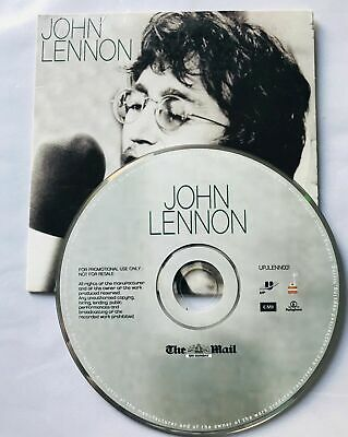 John Lennon - Promo CD Daily Mail • 1.99£