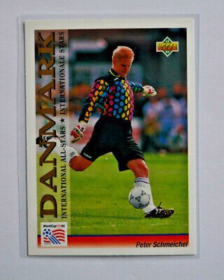 Upper Deck WM World Cup 94 1994 USA/Preview 1993/ Int.All-Stars Peter Schmeichel • 7.22£