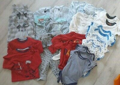 Twin Baby Boy Clothes Bundle. Age 3-6 Months • 9£