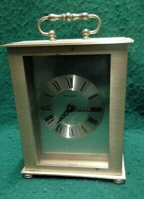 Staiger Quartz Brass Carriage Clock • 4.99£