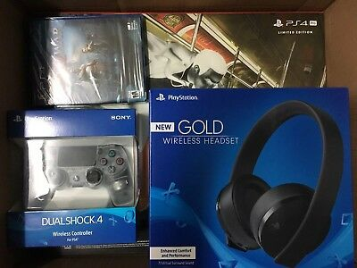 AU1125.05 • Buy Sony PS4 PRO 1TB Spider-Man Limited Bundle With GOW DS4 & Headset, NIB FAST SHIP