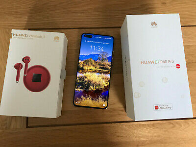 Huawei P40 Pro 5G - 256GB - SILVER (Unlocked) (Dual SIM). EXCELLENT CONDITION • 305£