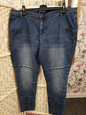 Simply Be Chloe Skinny Jeans Plus Size 24R • 12.99£