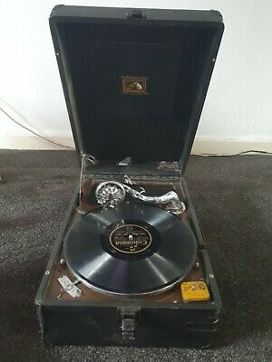 Vintage HMV Record Player Gramophone  • 90£