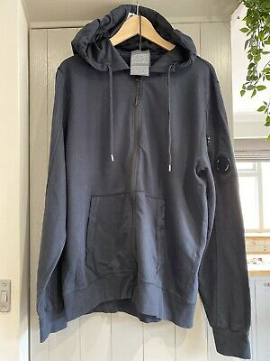 Cp Company Hoodie Xl New Navy Blue • 130£