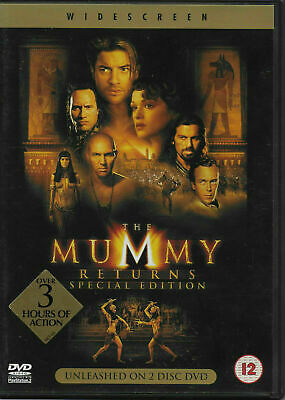 The Mummy Returns DVD 2 Disc Special Edition  • 2.99£