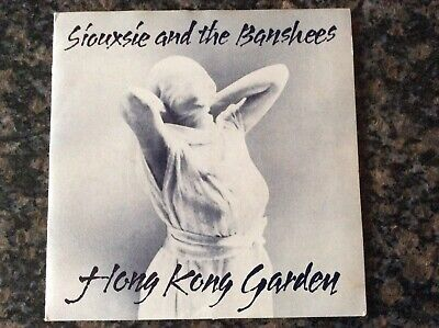 "Rare Punk 7"" Vinyl Siouxsie And The Banshees  Hong Kong Garden Gate Fold Sleeve • 19£"