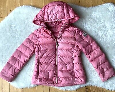 Girls Genuine Moncler Iraida Pink Down Padded Coat Age 3 • 42£