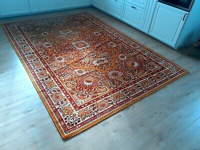 Traditional Vintage Wool Carpet Rug 200cm X 296cm Beautiful Pattern • 180£