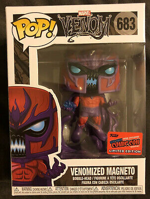 NYCC 2020 Funko Pop! Venom Venomized Magneto #683 *OFFICIAL STICKER* • 61.87£