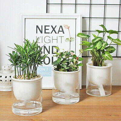 Accessories Plant Pots Nursery Pot Home Decor Water-Saving Automatic Watering • 4.69£