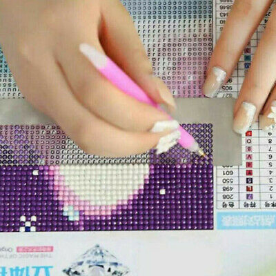 AU9.80 • Buy Stainless Steel 5D Diamond Painting Ruler Blank Grids Round Full Drill Kit Tool