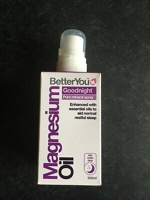 BetterYou Magnesium Oil Joint Spray (100ml) Goodnight Sensitive Joint  • 10£