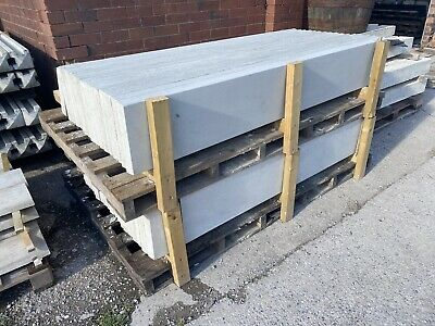 £13.20 • Buy •New• Smooth Concrete Fencing Gravel Boards/ Base Panels