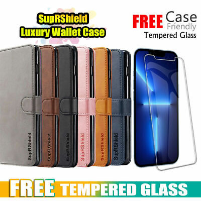 $ CDN9.99 • Buy For IPhone 12 11 Pro Max Mini XR X XS 8 7 Wallet Leather Magnet Flip Case Cover