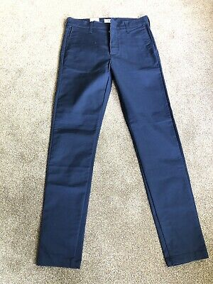 Edwin  45 Chino. CS Twill Poly Cotton 8.6oz Normal Rinsed W29 L33 • 44.99£