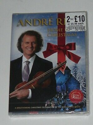 New-sealed:andre Rieu / Home For Christmas -all Reg  Dvd (free P&p Uk) • 5.99£