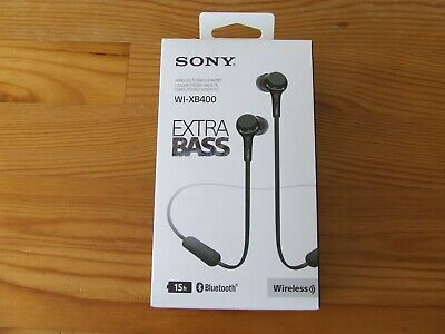 Sony WI-XB400 Extra Bass Wireless In-ear Headphones • 14.99£