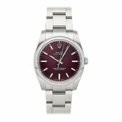 $ CDN7952.77 • Buy Rolex Oyster Perpetual Auto 34mm Steel Mens Oyster Bracelet Watch 114200