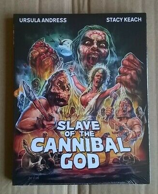 Slave (Mountain) Of The Cannibal God Code Red Blu-ray Region A Slipcover Uncut • 37.99£