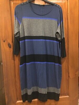 Ladies Marks And Spencer AUTOGRAPH Long Tunic / Dress Size 16 • 3£