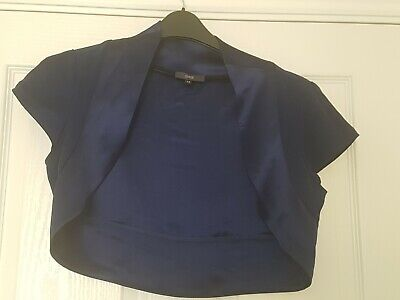 Pearce Ii Fionda Royal Blue Evening Shoulder Cover  Size 14 • 10£