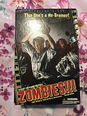 Twilight Creations Zombies Directors Cut Board Game - Complete & Boxed Halloween • 3£