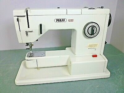 PFAFFelectronic Sewing Machine. Model 1222 No Powercord Sold Parts Or Repair. • 49£
