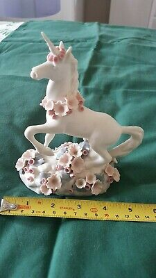 Vintage Chessell Pottery (Isle Of Wight) Hand-Made Unicorn Figurine • 20.80£