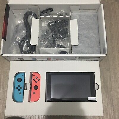 AU400 • Buy UNPATCHED Nintendo Switch LOW SERIAL Number COMPLETE In Box