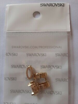BN Swarovski Gold Plated Navette Setting With 4 Holes & Open Back,10x5mm - 4pk • 0.99£